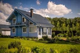 Красивые дома из профилированного бруса