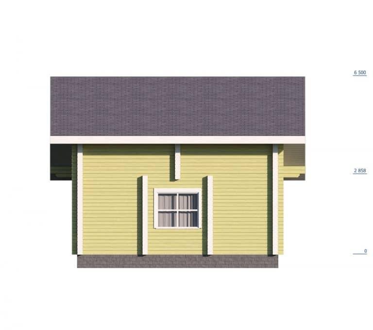 «Александров» — проект двухэтажного дома из бруса