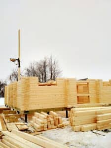 Проект загородного дома из бруса профилированного