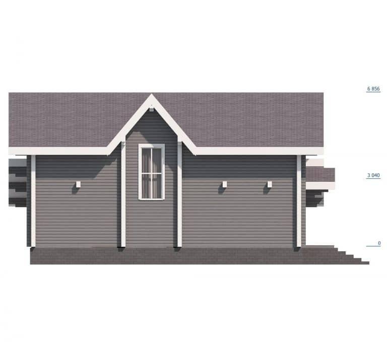 «Калининец» — проект элитного двухэтажного дома с гаражом