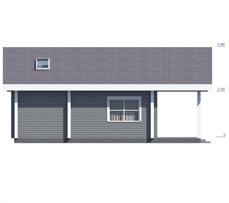 «Королев» — проект двухэтажного дома из бруса