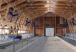 Возведение фермерских сооружений в Кривошеинском районе производят по новейшим технологиям