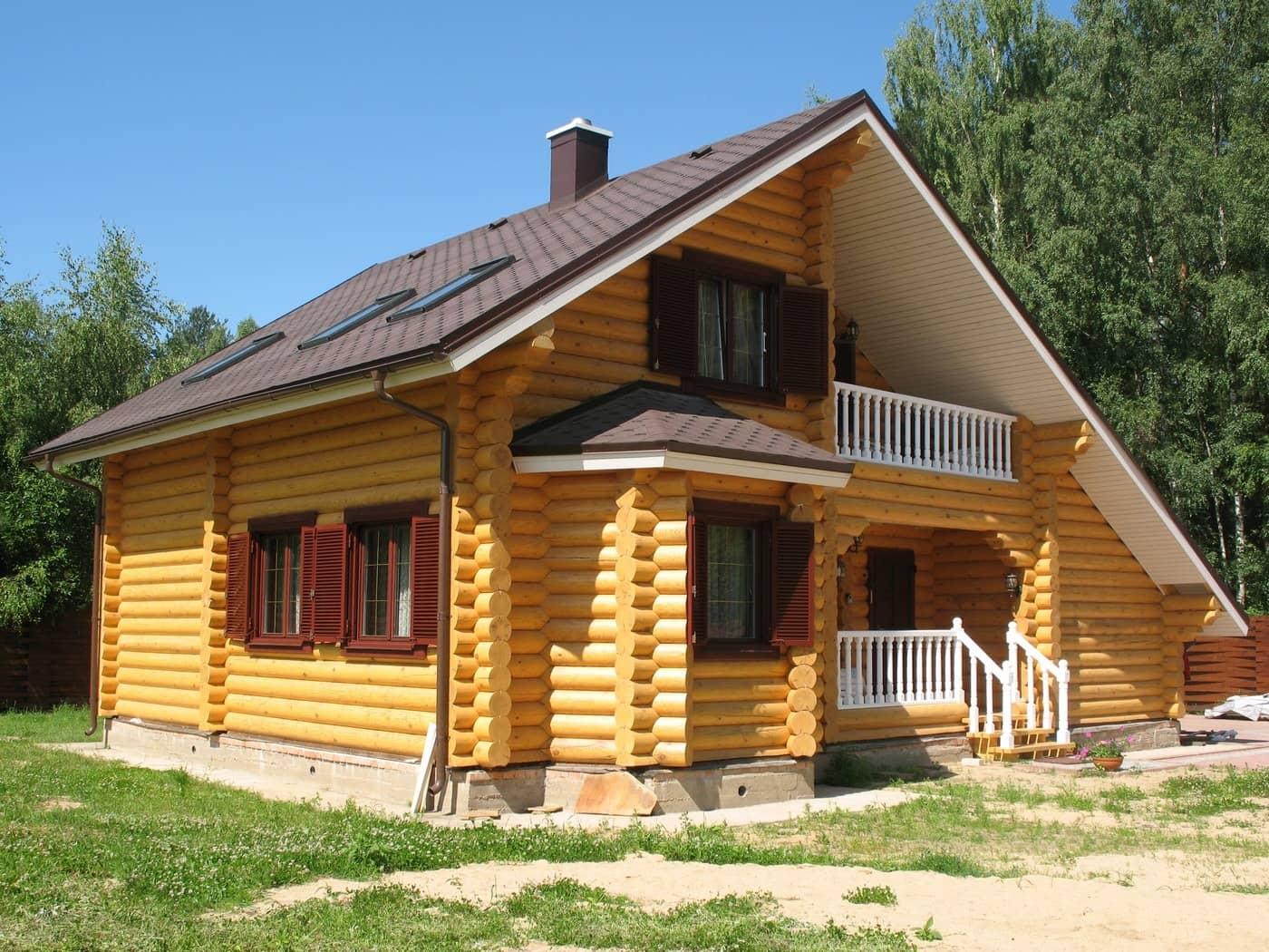 купить деревянный дом под ключ в Москве