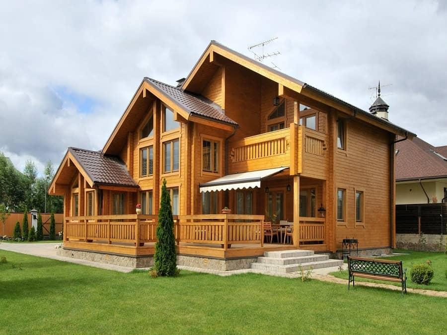 проекты домов из бруса для постоянного проживания