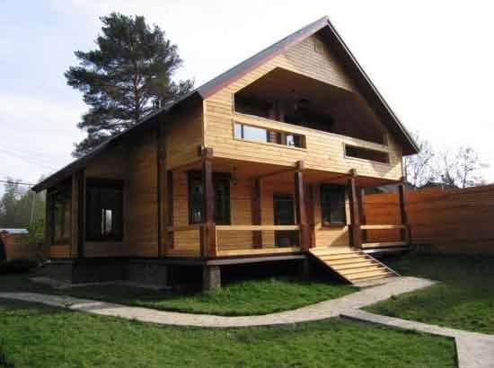 Дом построить из бруса 99