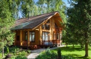 элитные деревянные дома проекты