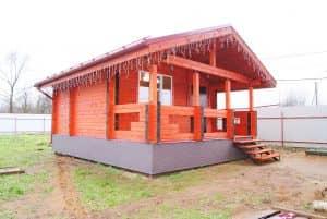 Гостевой дом из профилированного бруса