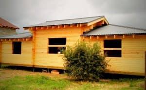 Проект дома из бруса профилированного