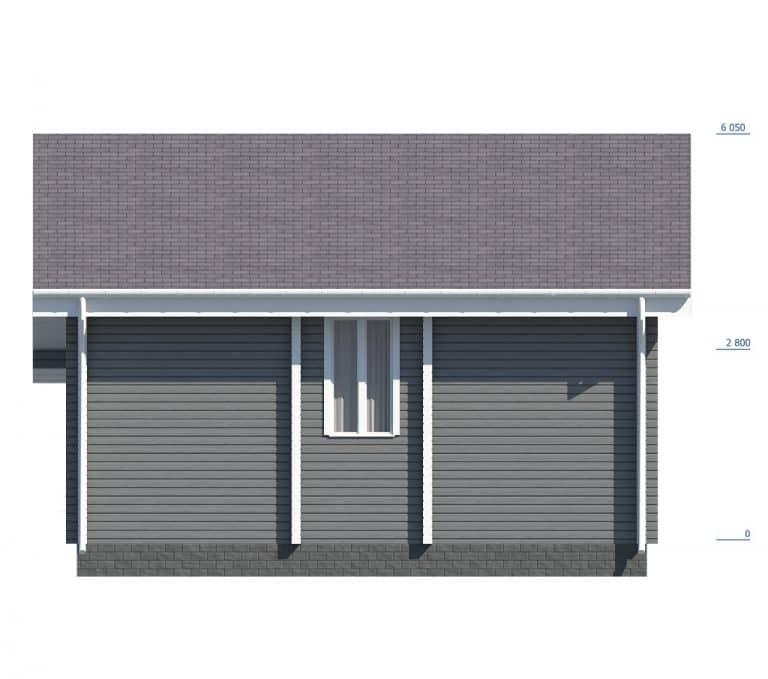 «Зеленоград» — проект двухэтажного дачного дома из бруса